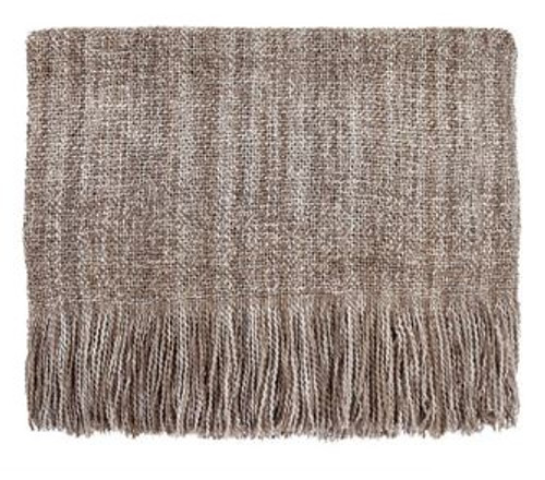 Kennebunk Home Serene throw in Cocoa