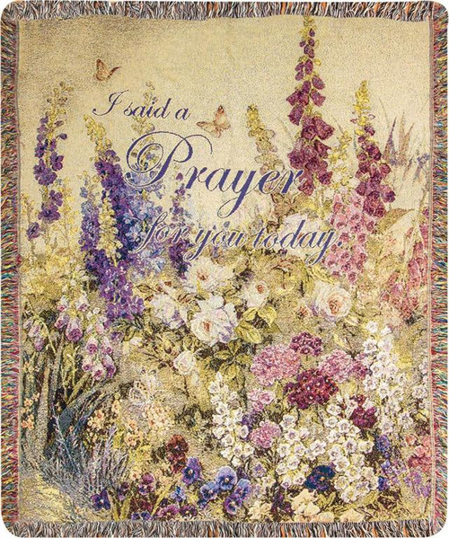 Butterfly Paradise Encouragement Throw