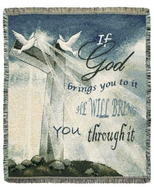 If God Brings You Throw Blanket by Simply Home