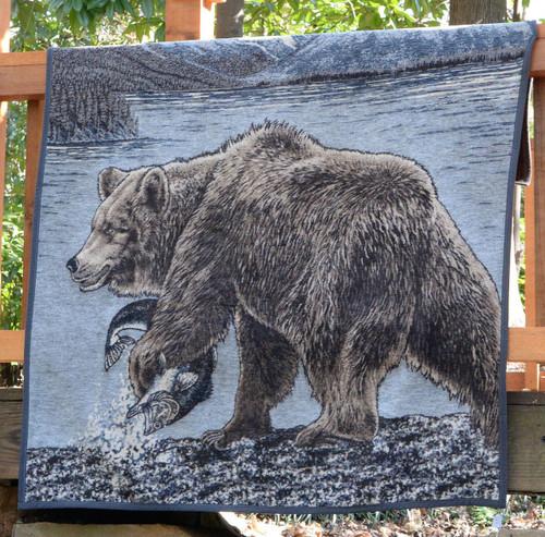 Ibena Sorrento Bear Blanket