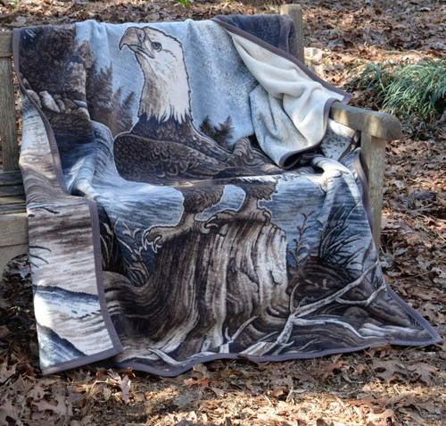 Ibena Sorrento Eagle Blanket