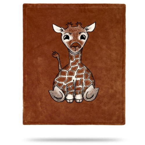 Baby Giraffe Spice Baby Blanket