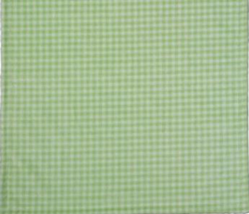 Gingham Light Green/Light Green #123 Baby Blanket by Denali (30x36 Inches)