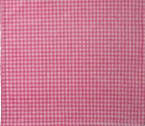 Gingham Light Pink/Light Pink #124 Baby Blanket by Denali (30x36 Inches)