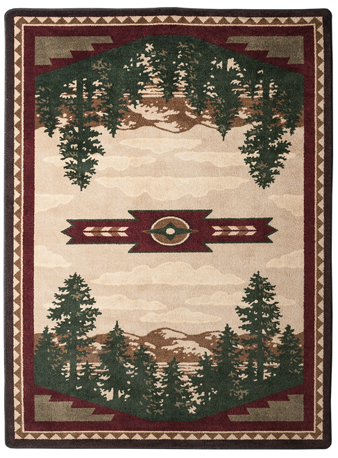 "Autumn Point 3x4 Rug by American Dakota (2'8"" x 3'11"")"