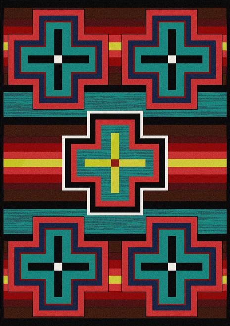 "Bounty/Bright 3x4 Rug by American Dakota (2'8"" x 3'11"")"