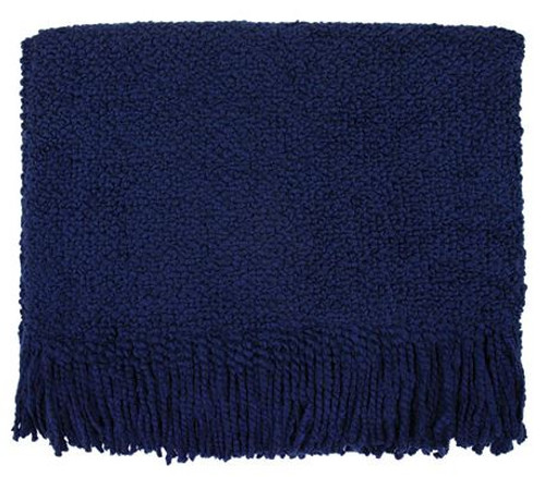 Kennebunk Home Campbell Midnight Blue Throw Blanket