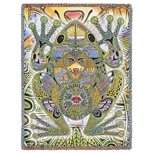Frog Blanket by Sue Coccia