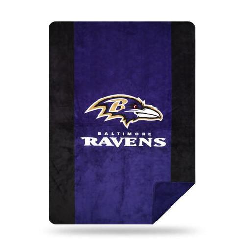 Baltimore Ravens Microplush Blanket by Denali