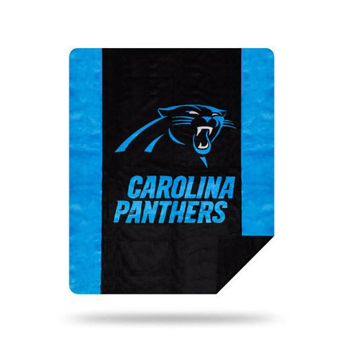 Carolina Panthers Microplush Blanket by Denali