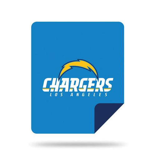 Los Angeles Chargers Microplush Blanket by Denali