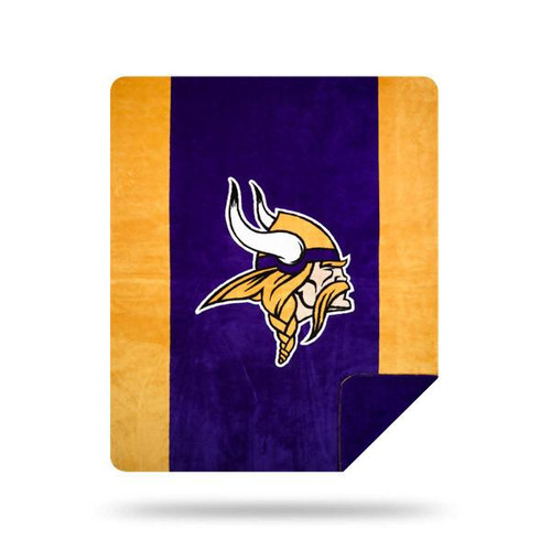 Minnesota Vikings Microplush Blanket by Denali