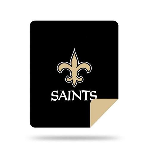 New Orleans Saints Microplush Blanket by Denali