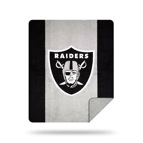 Oakland Raiders Microplush Blanket by Denali