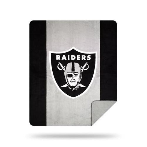 Las Vegas Raiders Microplush Blanket by Denali