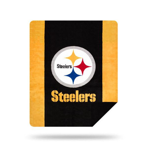 Pittsburgh Steelers Microplush Blanket by Denali