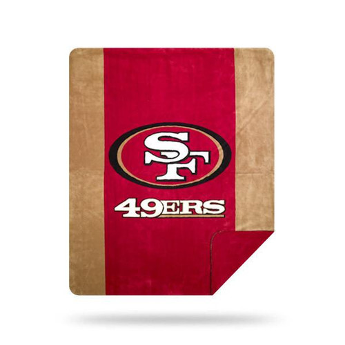 San Francisco 49ers Microplush Blanket by Denali