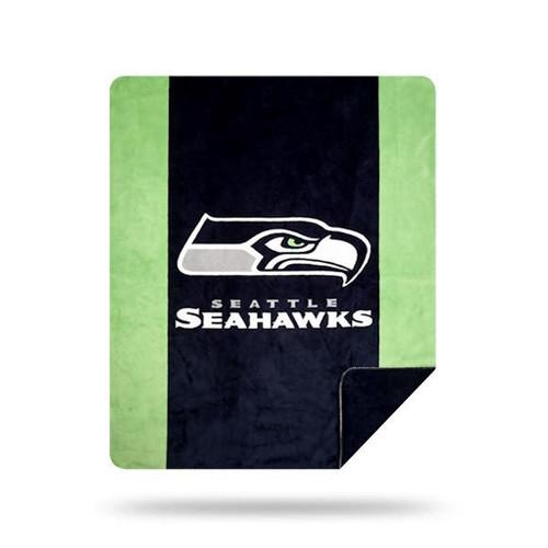 Seattle Seahawks Microplush Blanket by Denali