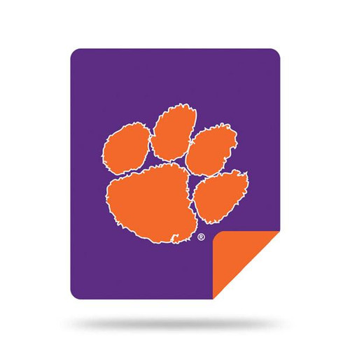 Clemson Tigers Microplush Blanket by Denali