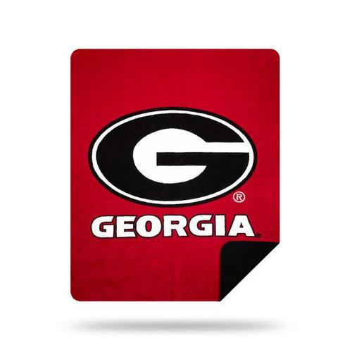 Georgia Bulldogs Microplush Blanket by Denali