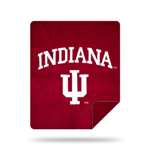 Indiana Hoosiers Microplush Blanket by Denali