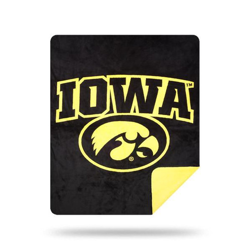 Iowa Hawkeyes Microplush Blanket by Denali