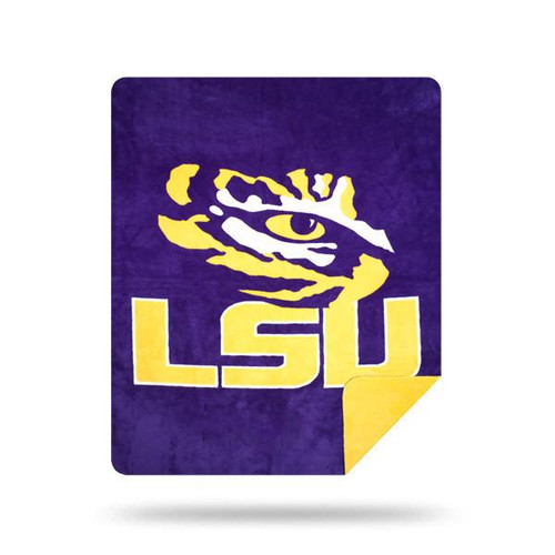 Louisiana State University Tigers Microplush Blanket by Denali