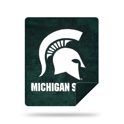 Michigan State Spartans Microplush Blanket by Denali