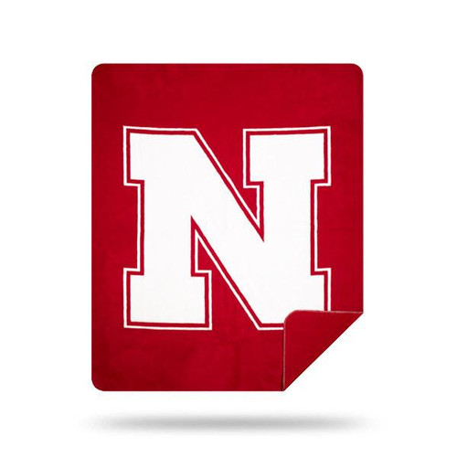 Nebraska Cornhuskers Microplush Blanket by Denali