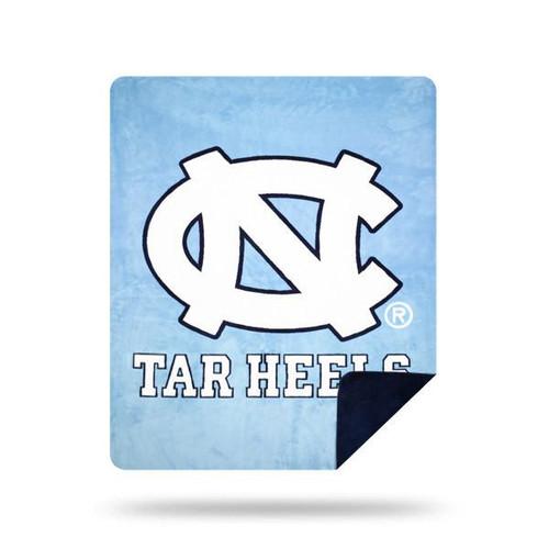 North Carolina Tar Heels Microplush Blanket  by Denali