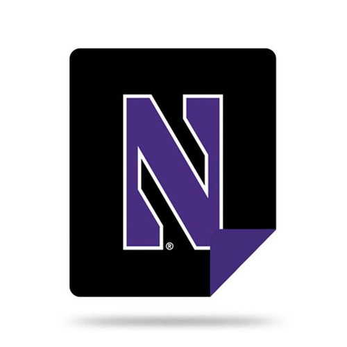 Northwestern Wildcats Microplush Blanket by Denali