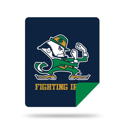 Notre Dame Fighting Irish Microplush Blanket  by Denali