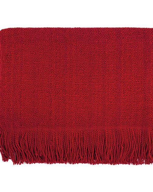 Kennebunk Home Serene Throw - Scarlet
