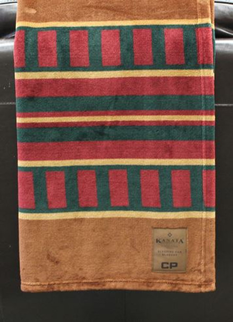 Canadian Pacific Sleeping Car Velura Blanket
