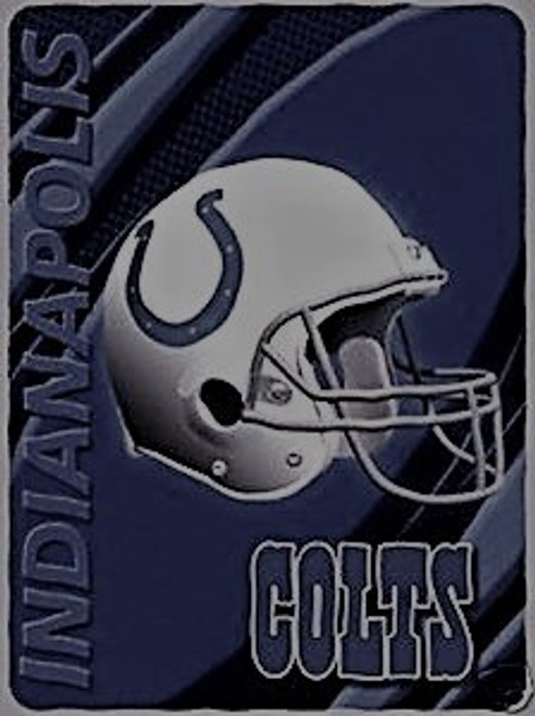 Indianapolis Colts Officially Licensed Twin Size Blanket