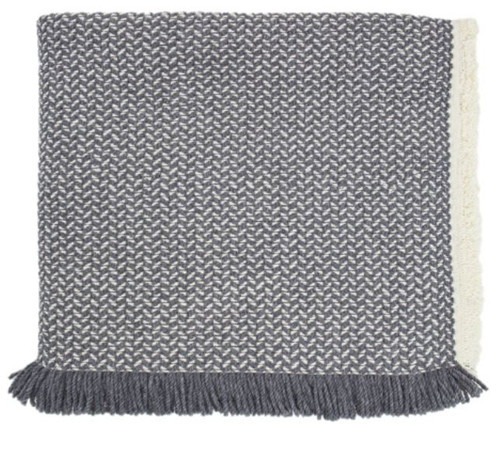 Kennebunk Home Chatham Charcoal Tygh Ridge Ranch Wool Throw
