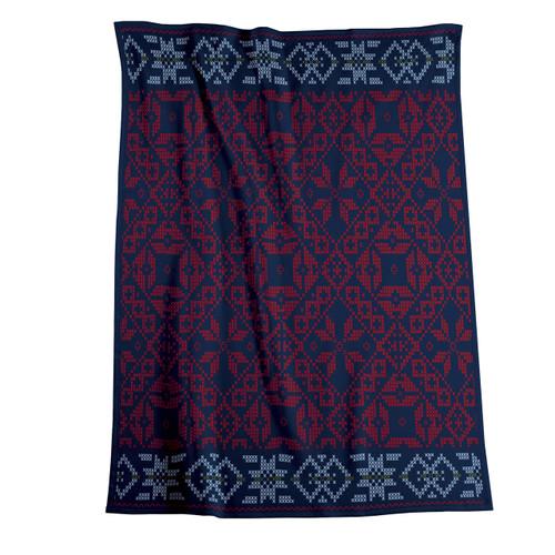 Biederlack Folklore Blanket
