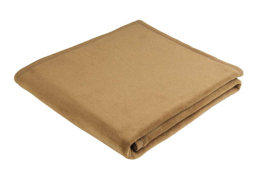 Uno Soft Camel Full / Queen Size Blanket