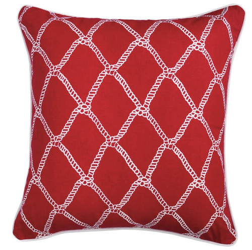 Marina Red Pillow