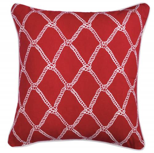 Marina Red Pillow