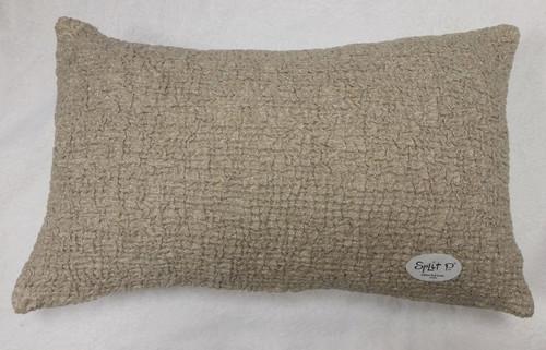 Gold Lurex Pucker Pillow