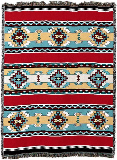 Rimrock Red Tapestry Throw Blanket