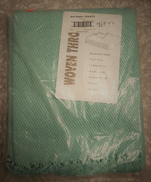 Split P Spa Cotton Throw Blanket