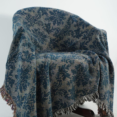 Blue Danube Tapestry Throw