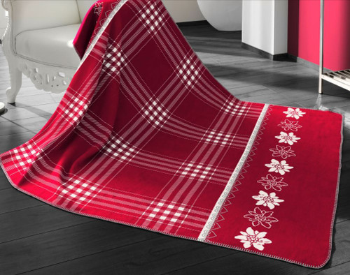 Biederlack  Alpine Collection Edelweiss Blanket