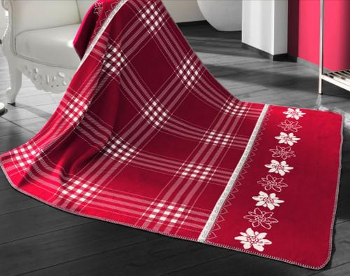 Biederlack  Alpine Collection Edelweiss Blanket