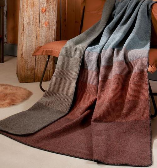 Biederlack Reflection Wool Blanket