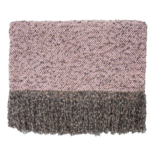 Kennebunk Home Filigree Throw in Shell pink