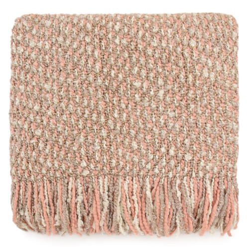 Kennebunk Home Mesa Throw Blanket in Cameo color