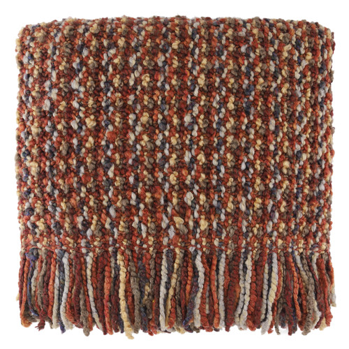Kennebunk Home Mesa Throw Blanket Russet